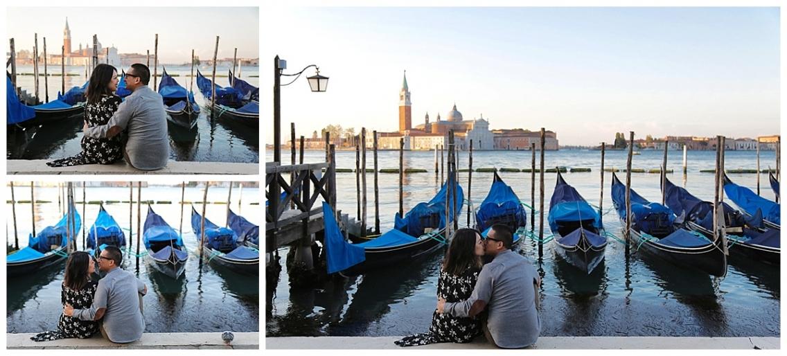 Lovely sunrise in Venice