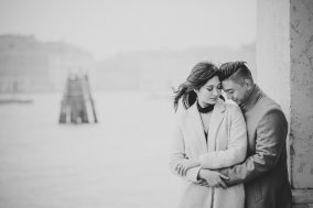 engagement photos in Venice